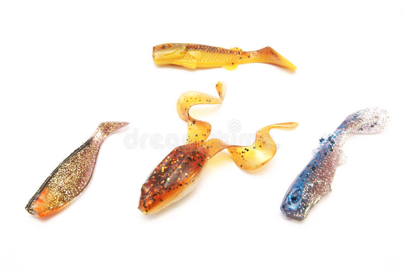 Fishing Spinning, bait, artificial lure. Fishing Spinning , bait, artificial lure royalty free stock images