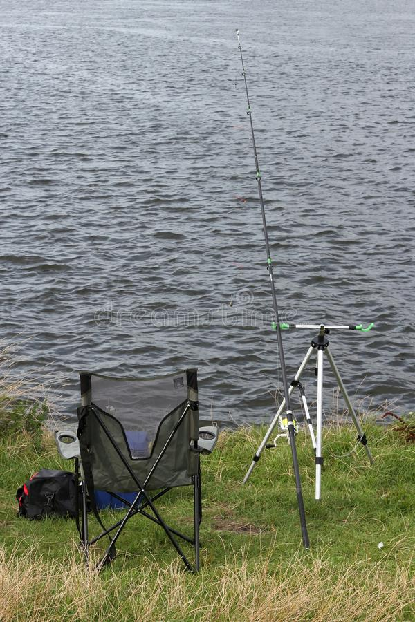 Fishing spot royalty free stock photography
