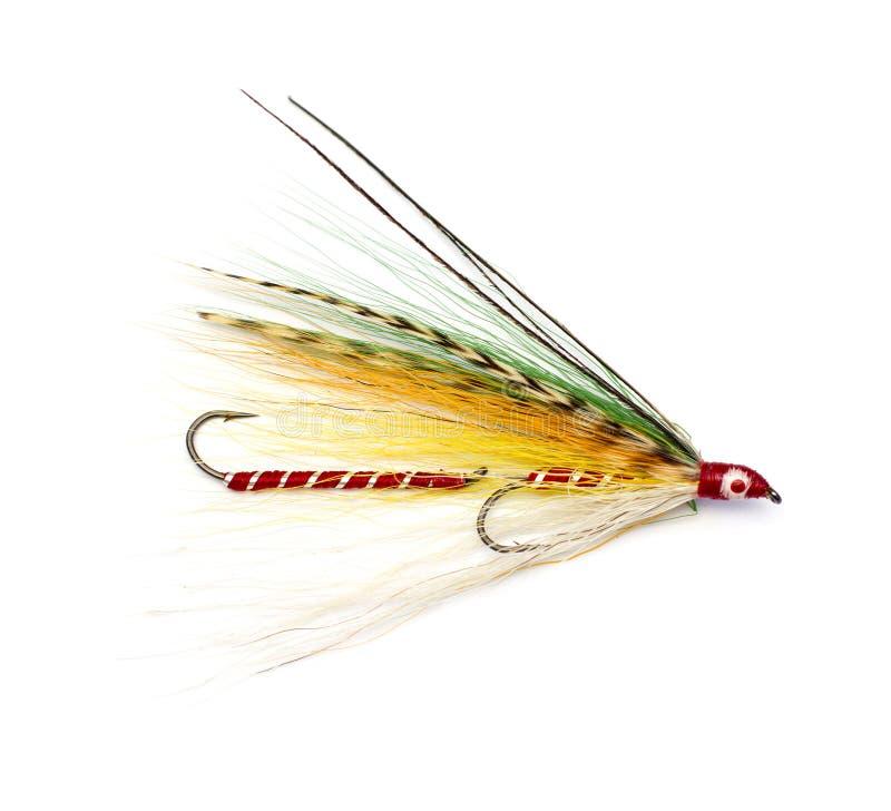 Fishing streamer royalty free stock photo
