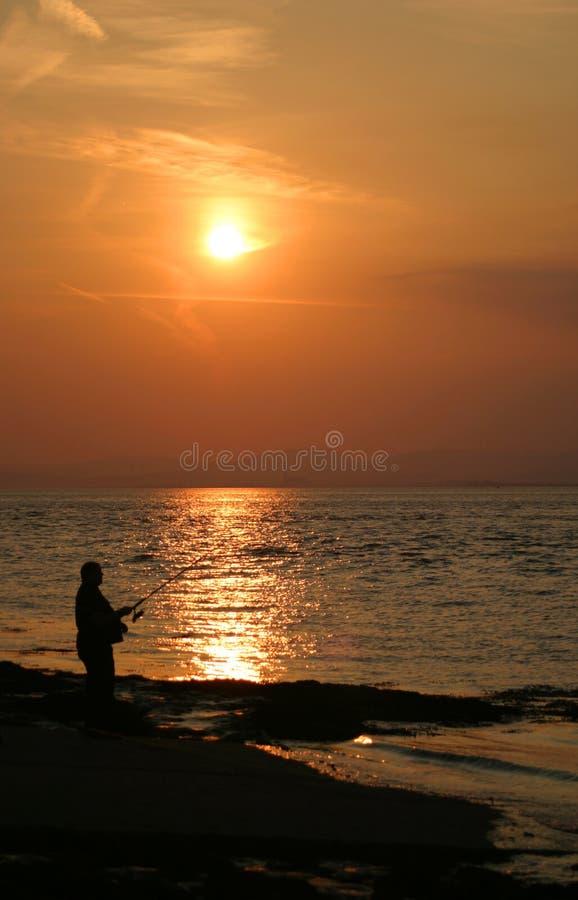 Download Fishing At Sunset Royalty Free Stock Photo - Image: 8245