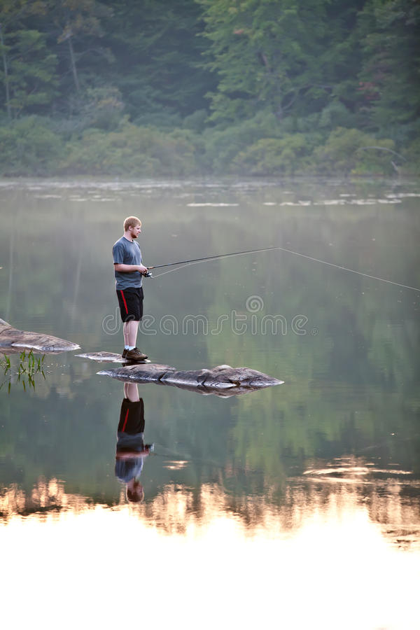 Download Fishing stock image. Image of recreational, tranquil - 34375145