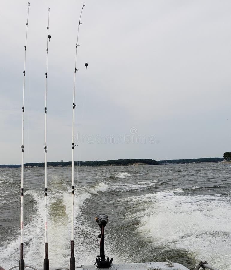 Fishing Time stock image
