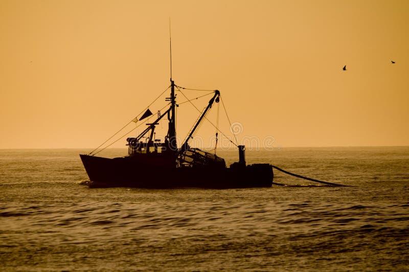 Fishing trawler royalty free stock image