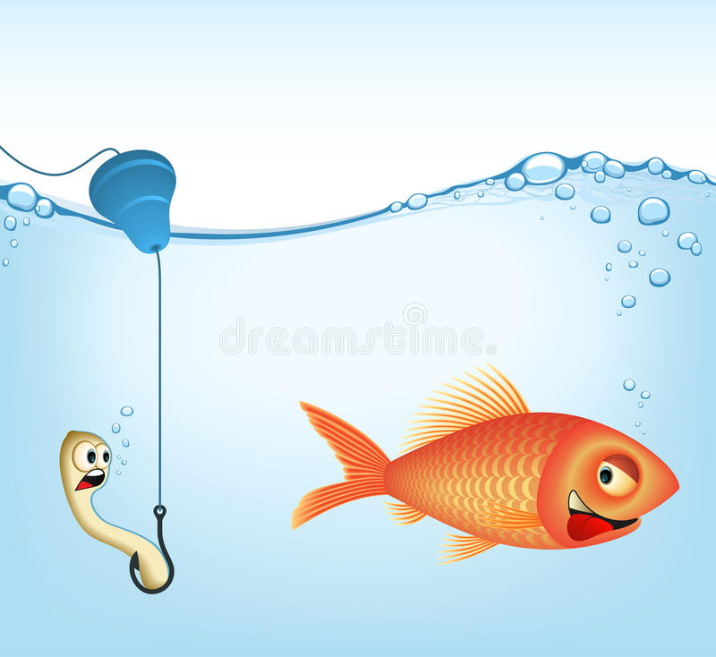 Download Fishing | VECTOR IMAGE Royalty Free Stock Photo - Image: 12648145