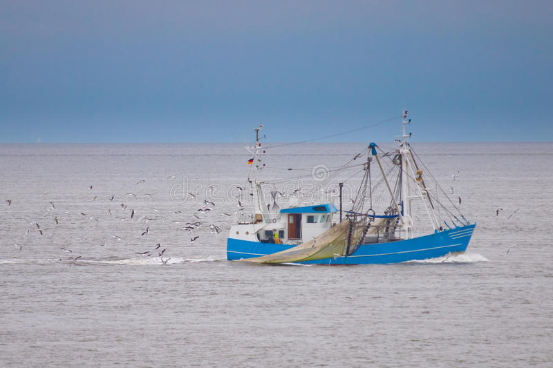 Fishing Vessel Stock Photography