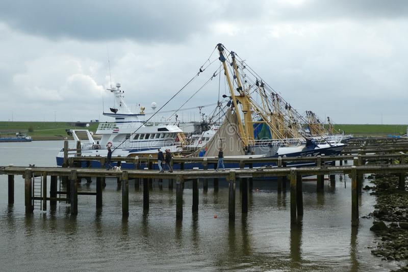 Fishing Vessel, Boat, Ship, Water stock images