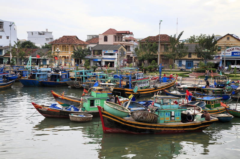 Download Fishing village editorial image. Image of harbor, fishes - 17753780