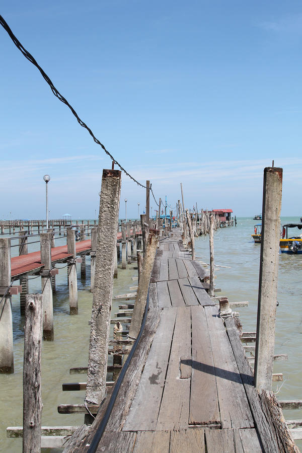 Free Fishing Village Jetty Stock Images - 48855794