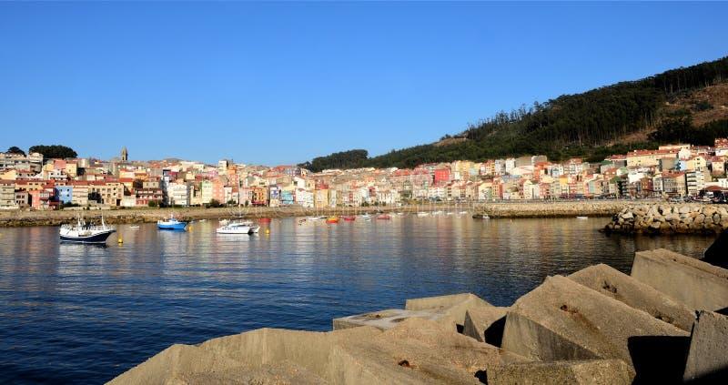 Fishing village of La Guardia, Pontevedra province, Galicia, Spain.  stock image