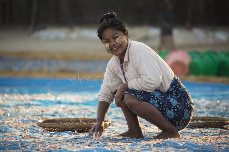 Fishing Village - Ngapali Beach - Myanmar (Burma) stock photos