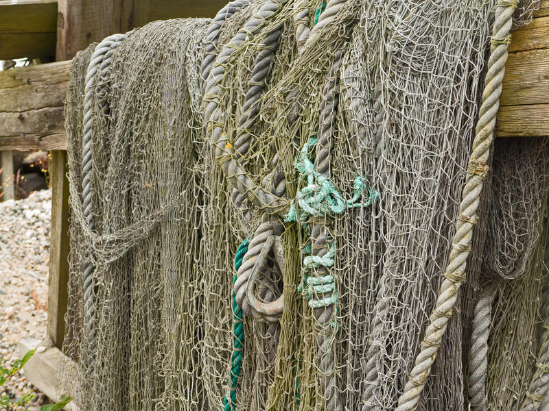 Fishing yarn stock photography