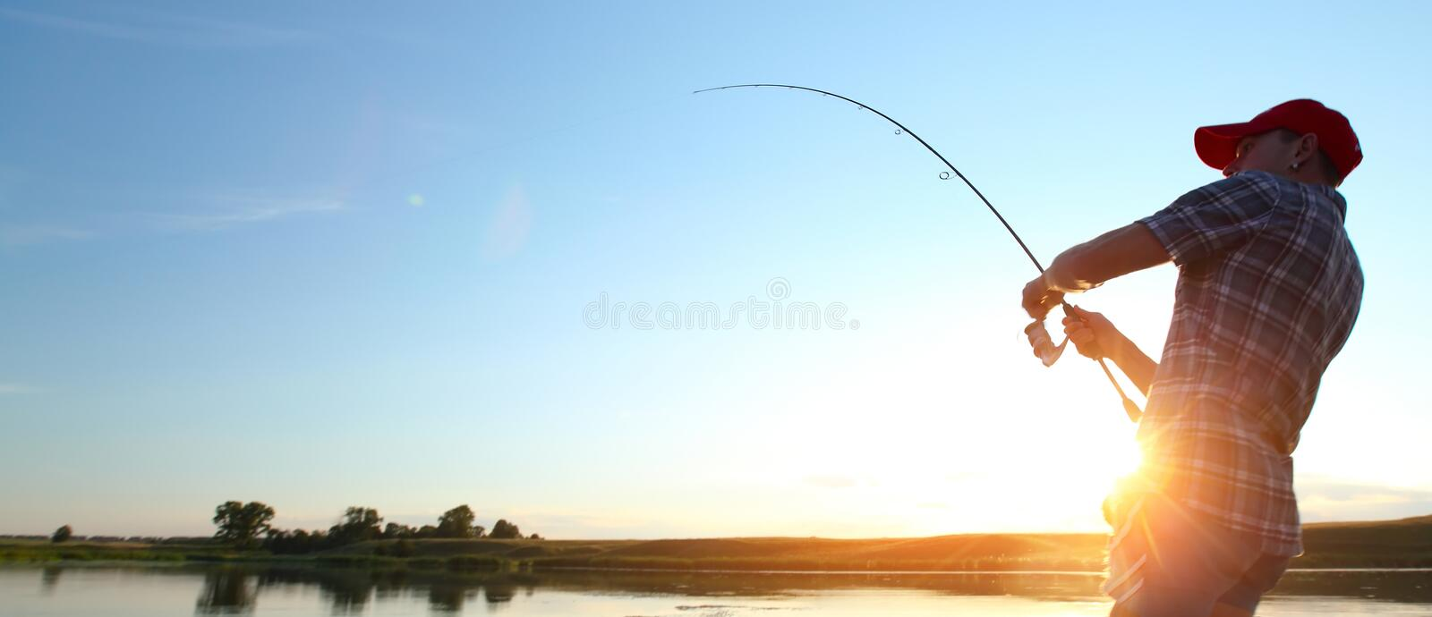 Download Fishing stock photo. Image of summer, male, recreation - 45723790