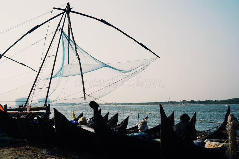 Fishingnet royalty-vrije stock foto's
