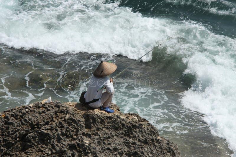 Fishingspot stockbild