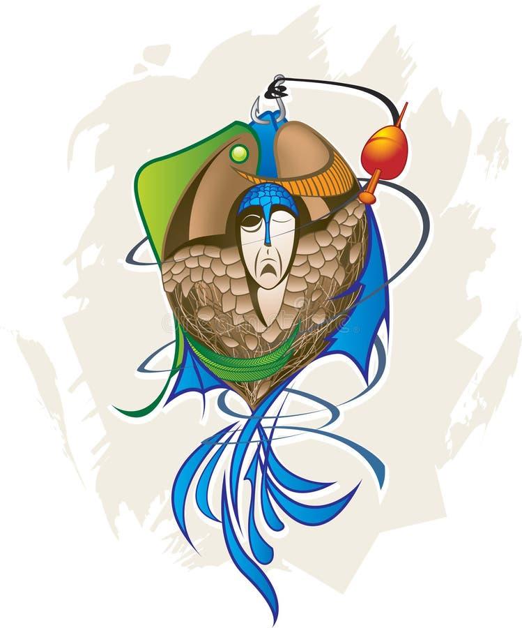 Fishman libre illustration