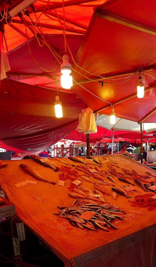 Fishmarket, Catania, Sicily royalty free stock photography