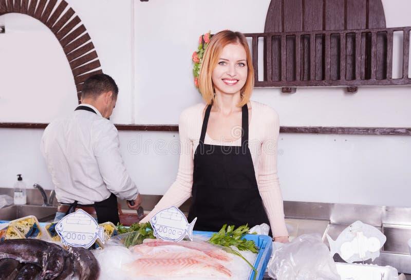 fishmonger στοκ φωτογραφίες