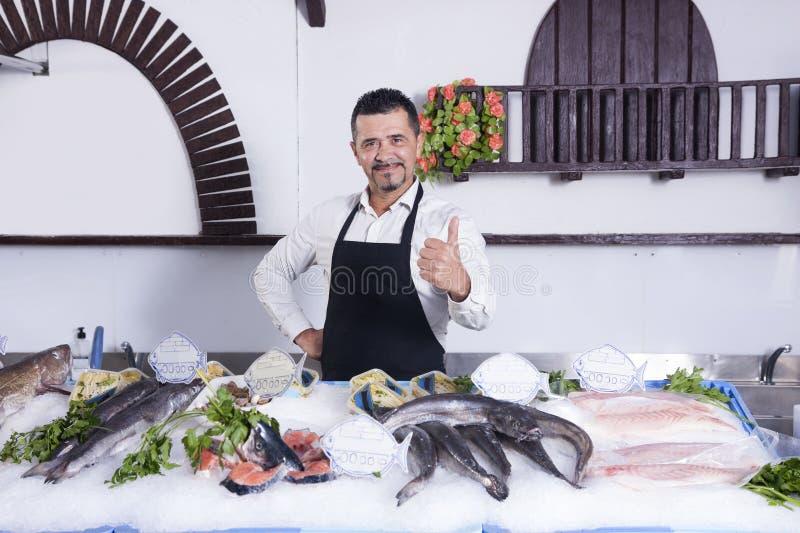 fishmonger στοκ εικόνα