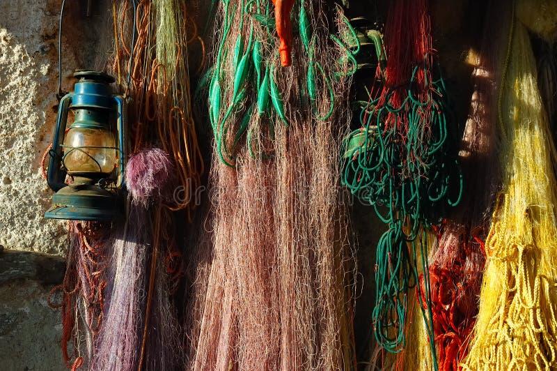 Fishnet  fotos de archivo