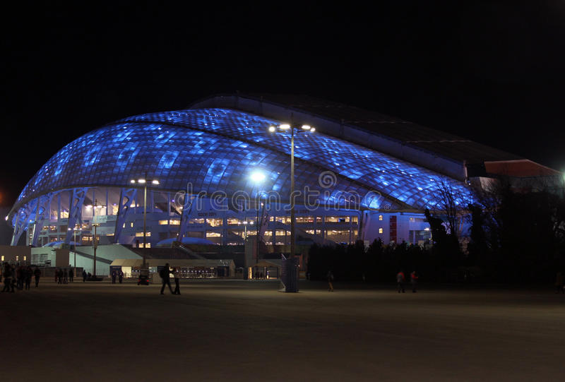 Fisht Olimpijski stadium w Olimpijskim parku obraz stock