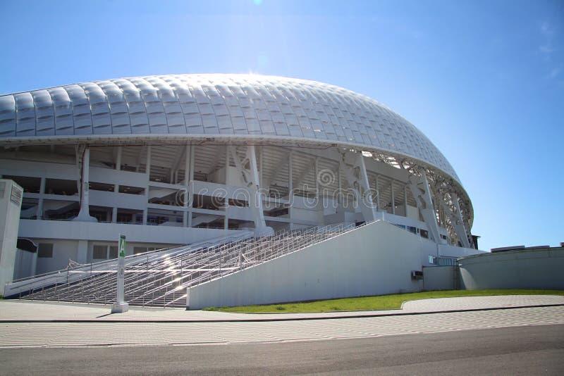 Fisht Olympic Stadium на XII Олимпийских Играх зимы стоковое изображение