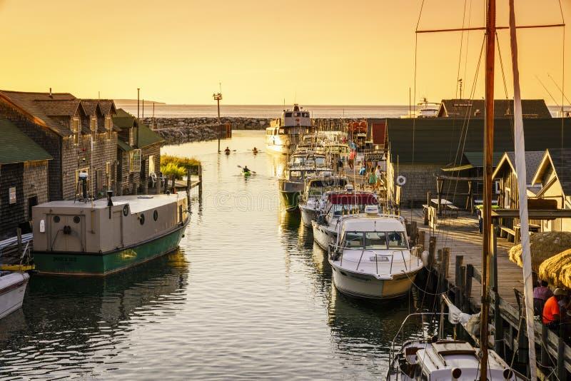 Fishtown royalty-vrije stock fotografie