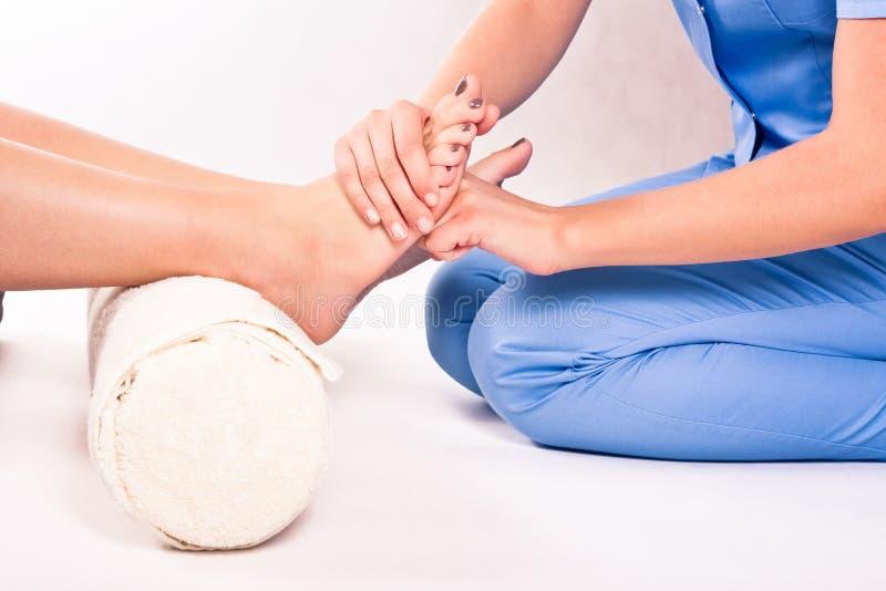 Fisioterapia fotografie stock libere da diritti