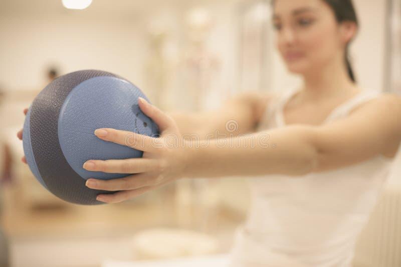 Fisioterapia foto de stock