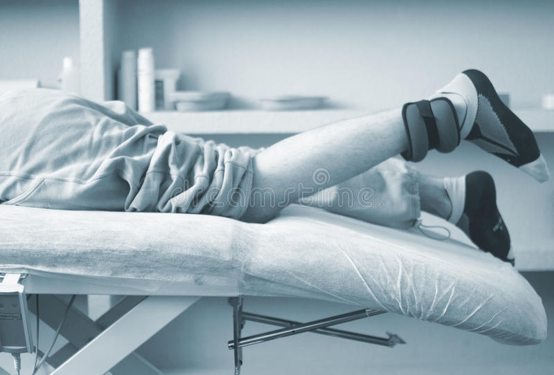 Fisioterapia di terapia fisica immagine stock