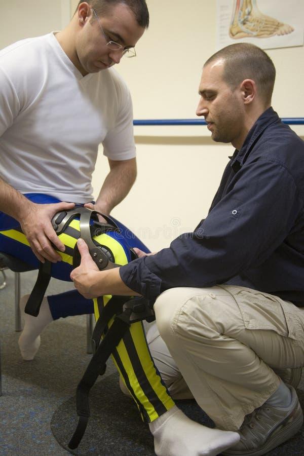 Fisioterapista immagini stock libere da diritti