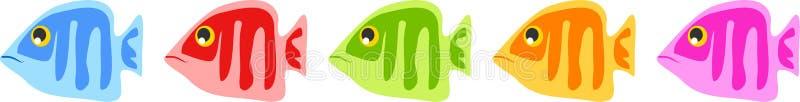 fisk vektor illustrationer