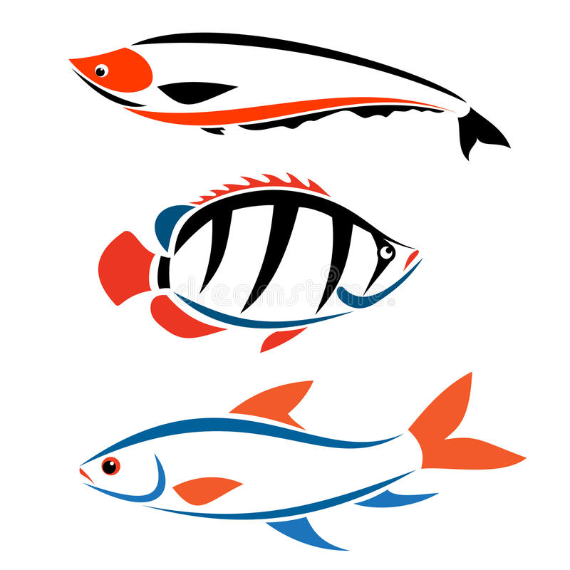 Download Fisk vektor illustrationer. Illustration av angus, livstid - 27281437
