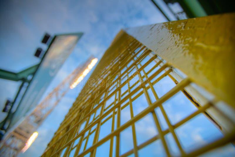 Fisk Pool in Fenway stock afbeeldingen