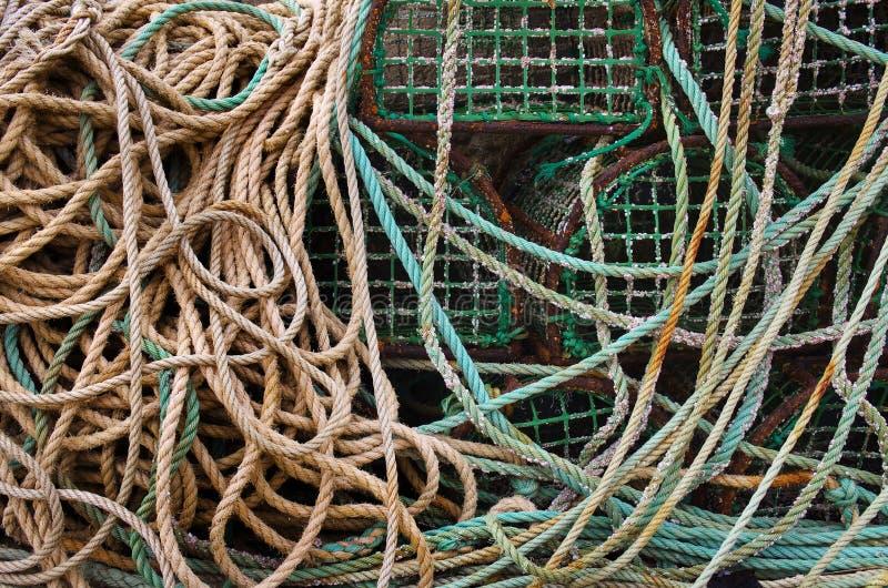 fiska blockeringar arkivfoto