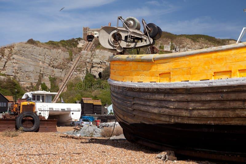 Fiska för Trawlerhastings royaltyfri bild