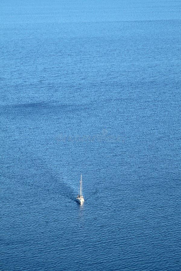 Fiska logen i det Aegean havet royaltyfri bild