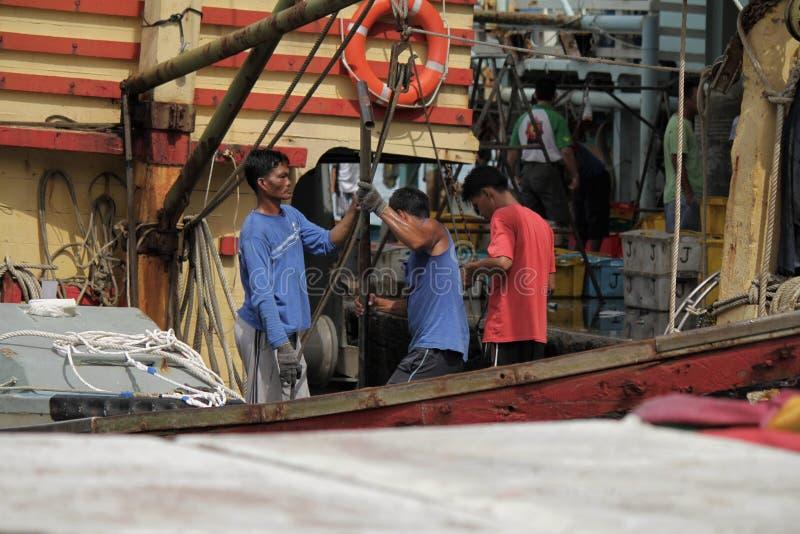 fiska marknaden royaltyfri bild