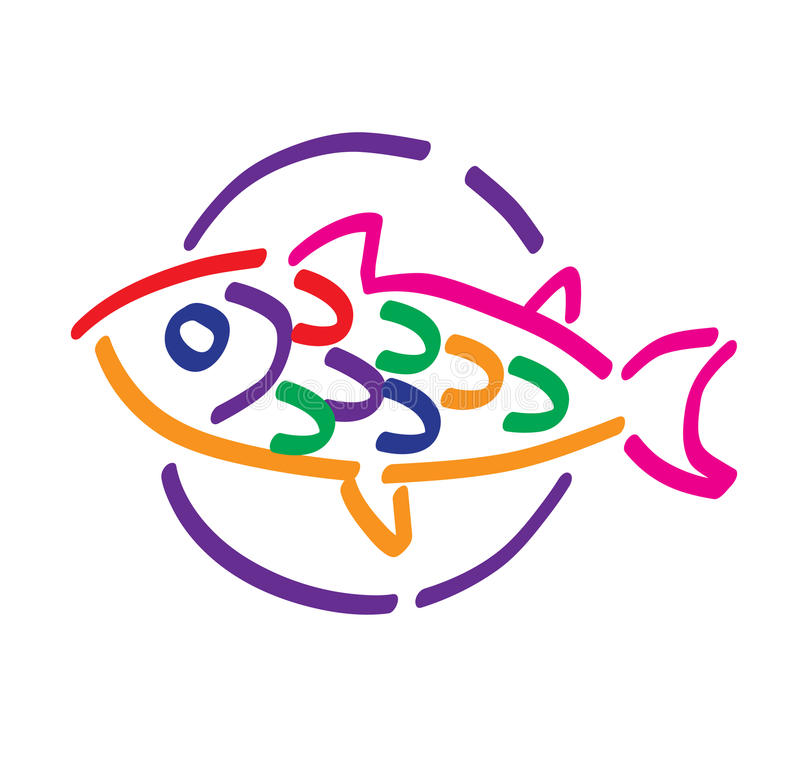 fiska plattan arkivfoton