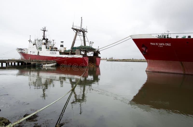 fiska ships arkivbilder