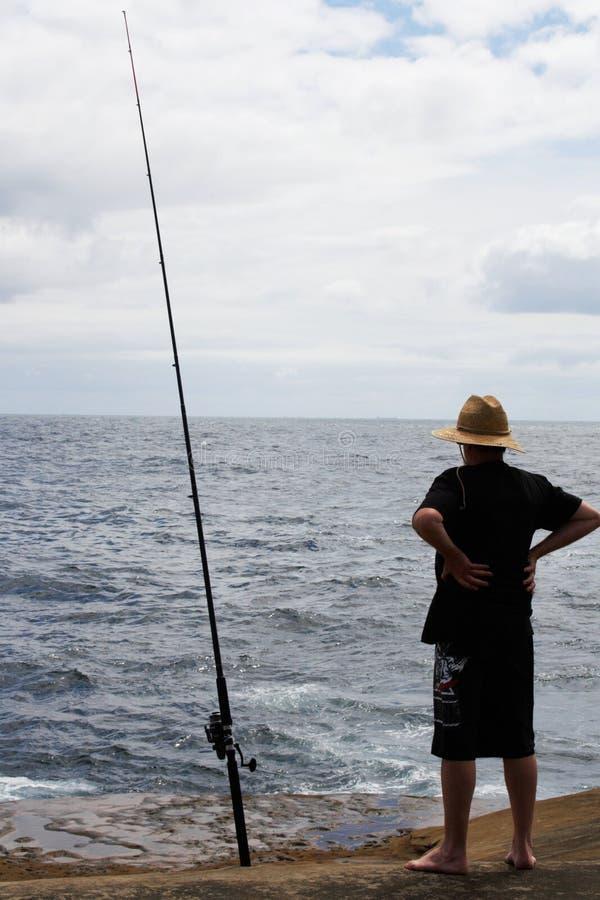 Fiska @ Terrigal, Australien fotografering för bildbyråer