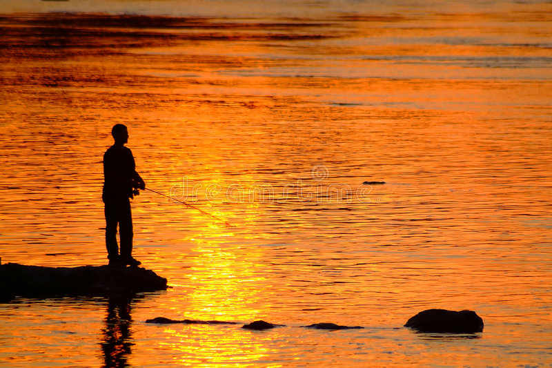 fiskare 3 fotografering för bildbyråer