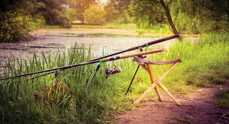 Fiskare Chair arkivbilder