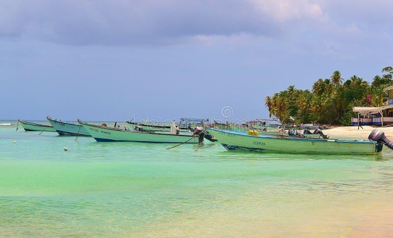 Fiskare i Trinidad och Tobago royaltyfria bilder
