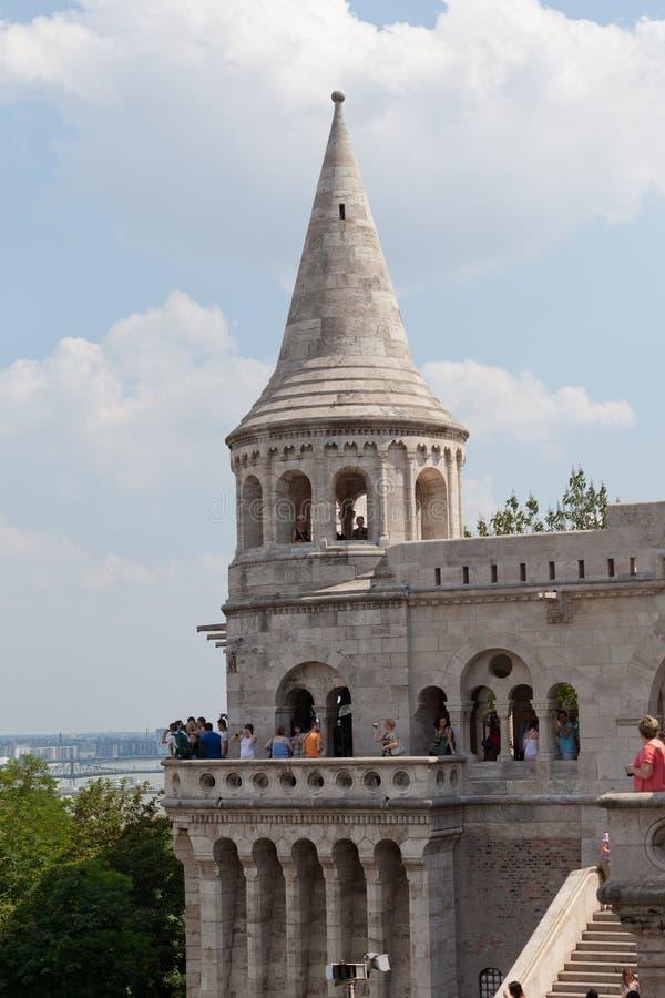 Fiskarebastion på det Buda slottet royaltyfria foton