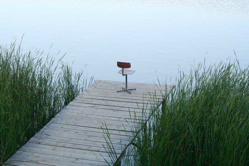 Download Fiskareställe s arkivfoto. Bild av afton, tomt, lakeside - 993178