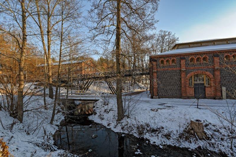 Fiskars by i Raseborg, Finland arkivfoton