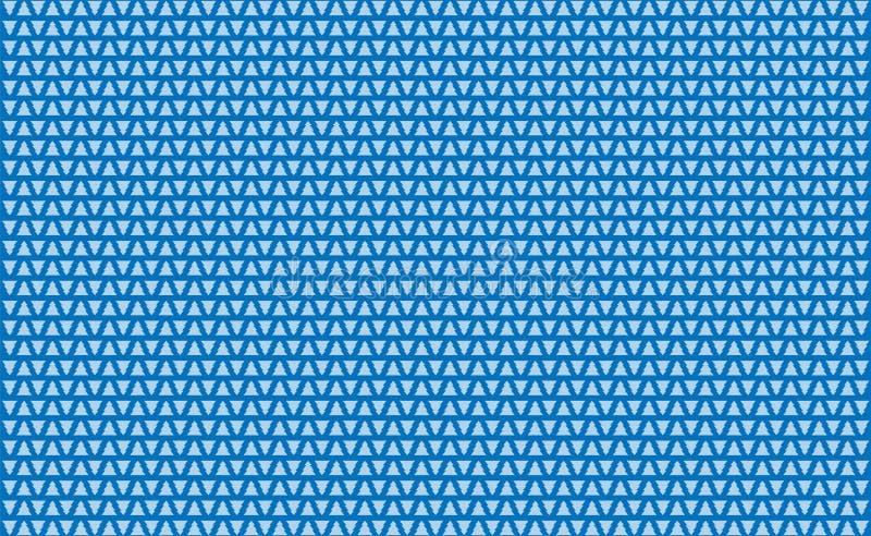 Fiskbensmönster för många jul med geometrisk färg för blå stil för bakgrund neo Modell med den lilla illustrationen för vektor fö royaltyfri fotografi