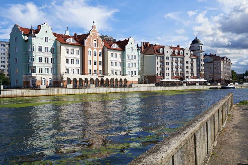 Download Fiskby. Kaliningrad. Ryssland Redaktionell Bild - Bild av gata, fisk: 37344196