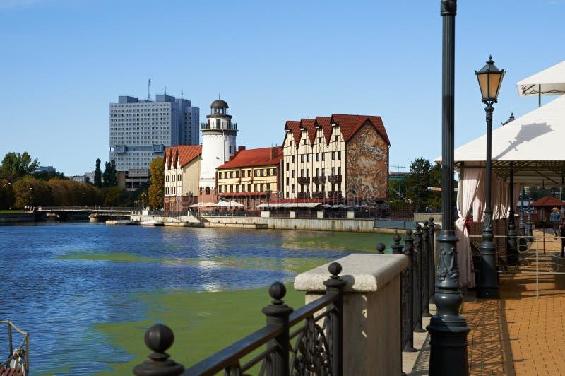 Download Fiskby. Kaliningrad. Ryssland Redaktionell Foto - Bild av östligt, europa: 37344235