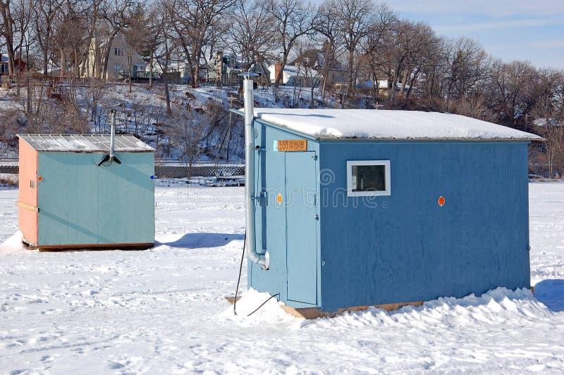 fiske houses is arkivfoto